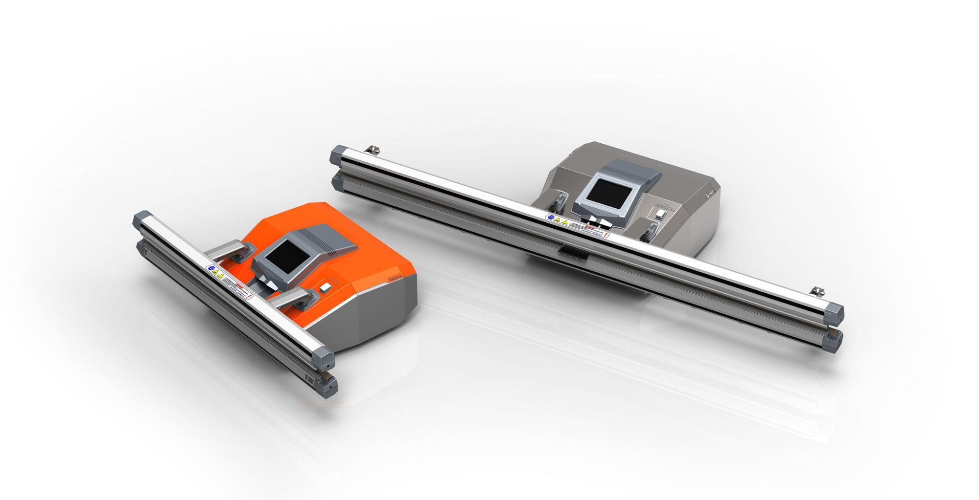 Индустриална вакуумна машина за запечатване.