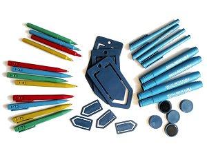 Специални пластмасови продукти за откриване от металдетектори